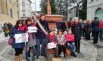 A Seregno flash mob contro la violenza sulle donne FOTO