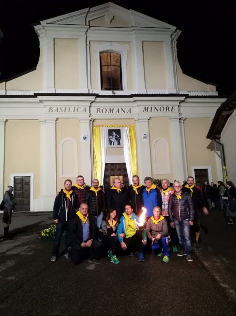 inaugurazione di viale Papa Paolo VI