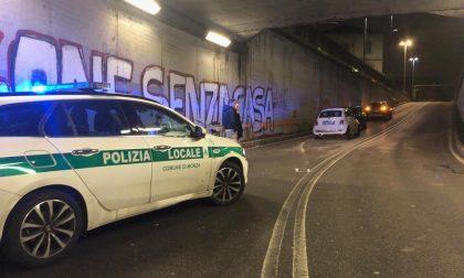 Monza, ancora due incidenti sotto il tunnel