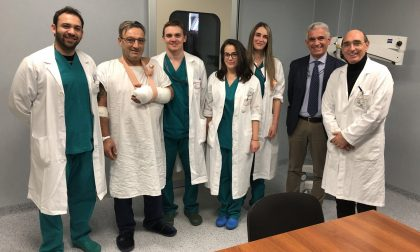 Mano amputata sul lavoro, lo salvano i chirurghi del San Gerardo