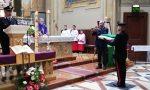 A Carnate la messa in onore della Virgo Fidelis FOTO