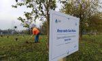 Bosco urbano a Sant'Albino, 100 piante per il quartiere VIDEO