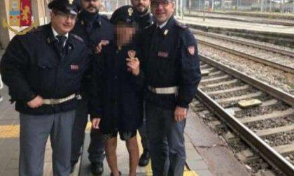 Bimbo amante dei treni scappa di casa: ritrovato dalla Polfer