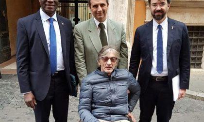 Il senatore Pellegrini attende il terrorista Battisti insieme a Torregiani