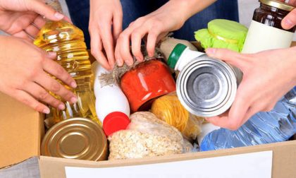 Colletta alimentare in Brianza: aiuti alle famiglie