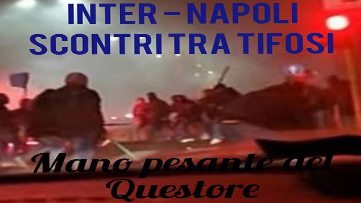 Buon Natale Ultras.Inter Napoli Scontri Tra Gli Ultras Morto Tifoso Di Varese Curva Chiusa Prima Monza