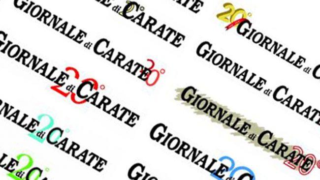 Il Giornale di Carate compie vent'anni, VOTA il logo celebrativo