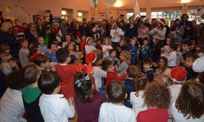 Il Natale solidale dell'asilo San Giuseppe di Arcore FOTO