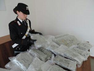 venti chili di droga in auto, tre arrestati a Carate