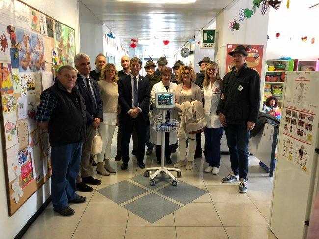 Ospedale Desio inaugurazione nuovi strumenti per mammografia e monitor per neonatologia
