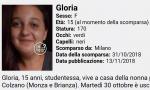 Gloria, 15 anni, non è ancora tornata a casa VIDEO