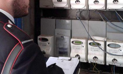 Carate Brianza, ruba energia elettrica: arrestato