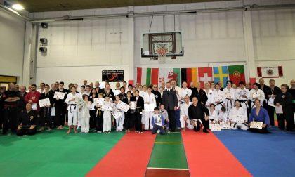 Sul tatami i maestri internazionali di arti marziali