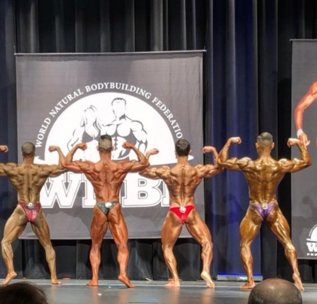 VERANO, campione body building