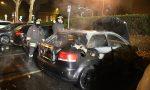 Audi cannibalizzata divorata dalle fiamme FOTO