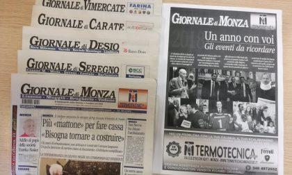 Monza e Brianza: i settimanali del Gruppo Netweek saranno eccezionalmente in edicola domani