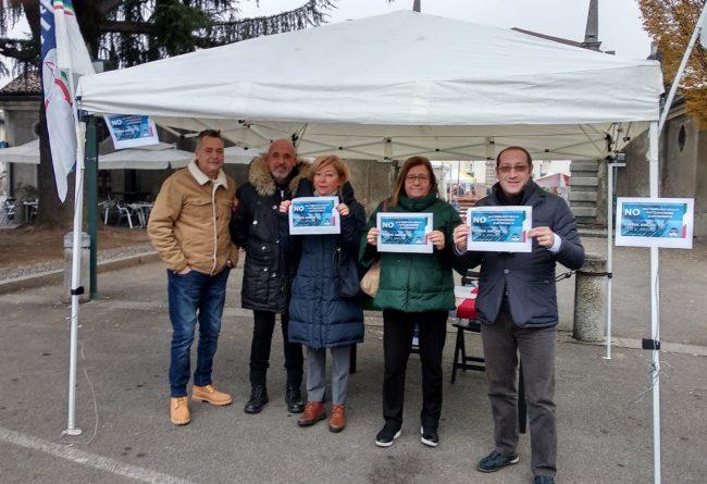 No alla fatturazione elettronica, Fratelli d'Italia in piazza