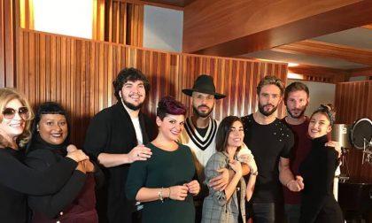 """Daniele balla con le star nel musical """"Men in Italy"""""""