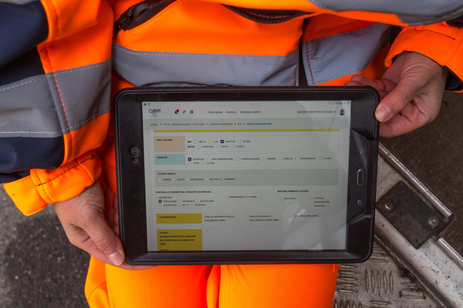 BrianzAcque | Monitoraggio real time del sistema fognario