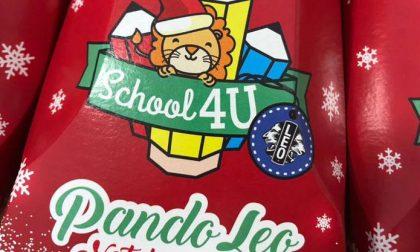 Pandori benefici per aiutare le scuole