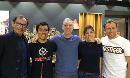Rodney Soncco pedala sulle frequenze di Radio Deejay