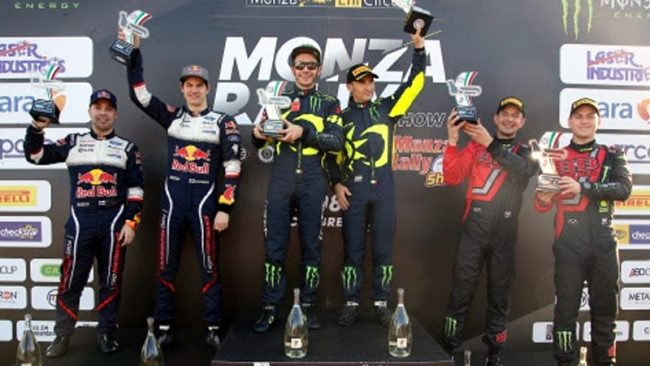Il settimo sigillo di Valentino Rossi al Monza Rally Show