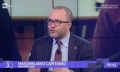 L'onorevole Massimiliano Capitanio ospite di Unomattina