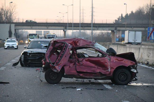 Incidente in Milano Meda: ecco il video che mostra il momento dello schianto