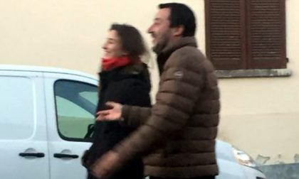 Il vicepremier Salvini paparazzato a Sovico