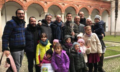 La Fom premia il presepe dell'asilo di Biassono