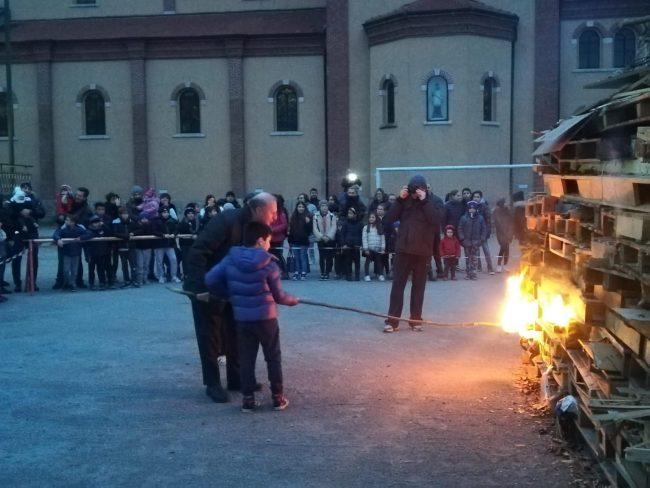 A Triuggio e nelle frazioni falò di Sant&#8217&#x3B;Antonio (LE FOTO)