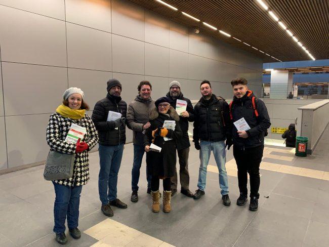 Sicurezza sui treni il Pd in stazione a Carnate e Arcore VIDEO
