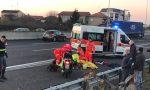 Incidente sulla Valassina: motociclista gravissimo, traffico bloccato tra Carate e Verano