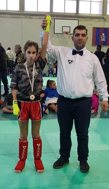 La piccola, grande Olivia Monti ha vinto ancora. E' il quinto successo consecutivo per l'11enne campionessa di kick boxing.