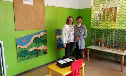 La scuola materna comunale ora ha le pareti colorate