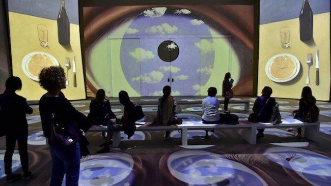 Inside Magritte a Milano fino al 10 febbraio: la mostra VIDEO