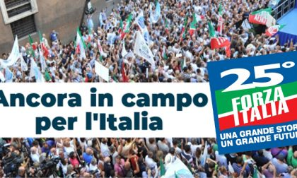 Monza, buon compleanno Forza Italia