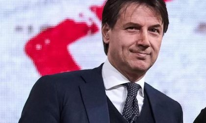 L'ex premier Giuseppe Conte a Verano