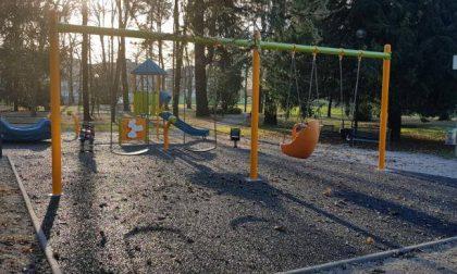 Riaperto il parco giochi di Villa Camperio a Villasanta