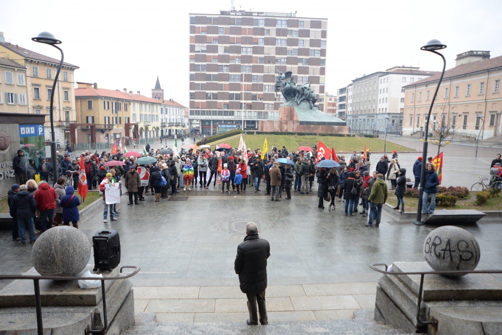 L'Italia che resiste, l'evento a Monza