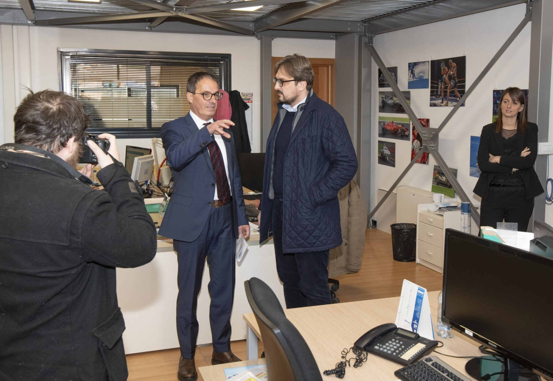 L'onorevole Guidesi (Lega) visita la sede Netweek VIDEO