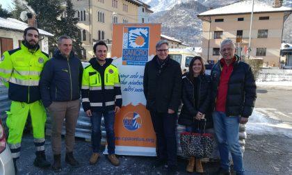 Protezione civile Monza in Veneto, consegnate 44 tonnellate di pellet