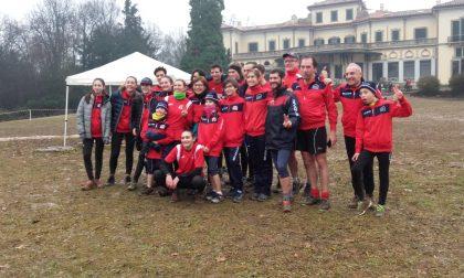 Quarto posto per la Polisportiva Bernate nella corsa campestre in Villa Borromeo FOTO