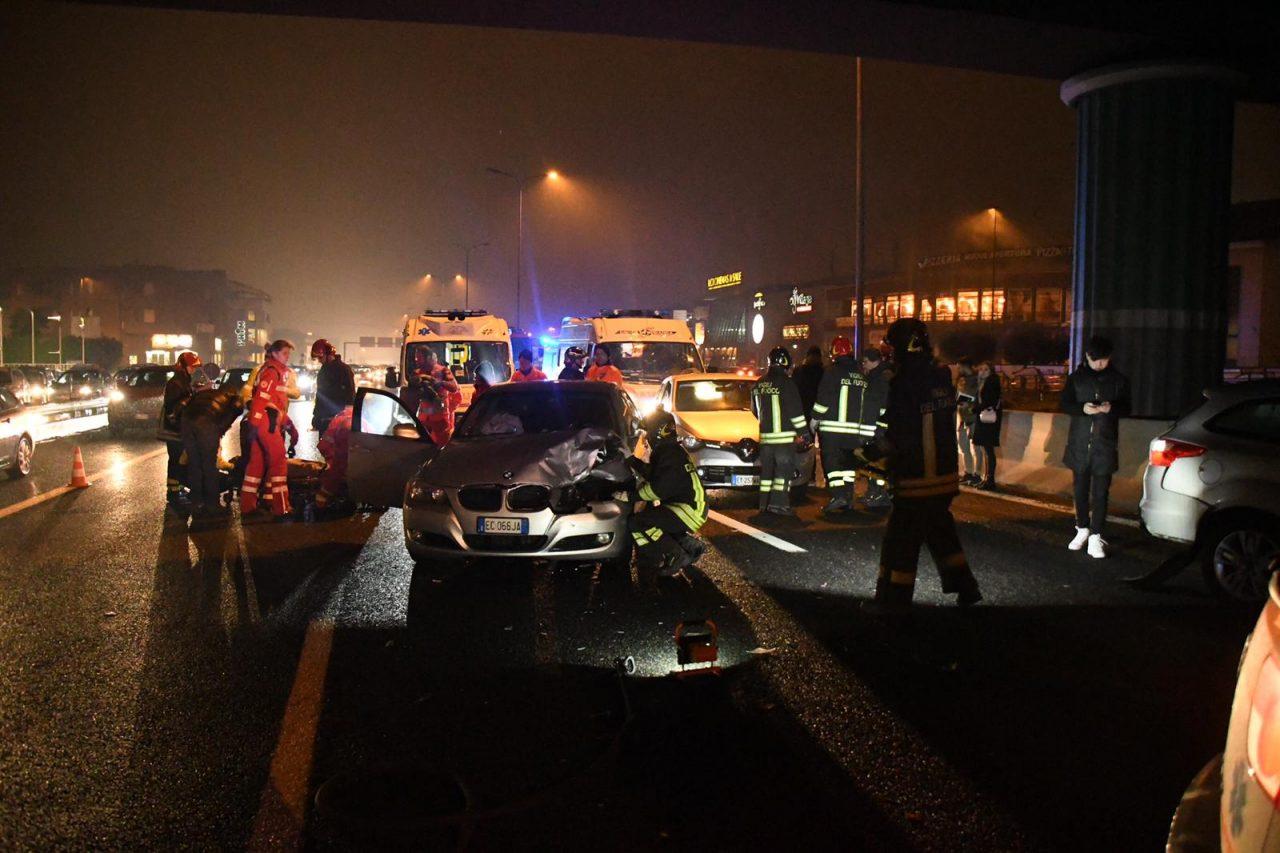 Incidente sulla Statale 36, cinque auto coinvolte FOTO e VIDEO