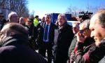 """Sopralluogo di sindaci e tecnici sul Ponte di Annone: """"Si apre a fine aprile"""" FOTO E VIDEO"""
