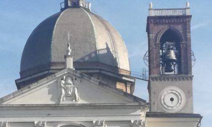 In riparazione l'orologio del campanile della Basilica di Desio