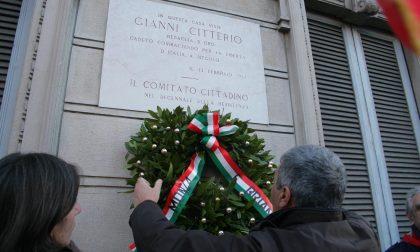 L'Anpi ricorda il sacrificio di Gianni Citterio