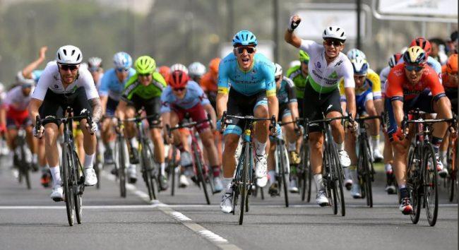 16:11 - Ciclismo: ancora Lutsenko, il Tour dell'Oman ormai è suo