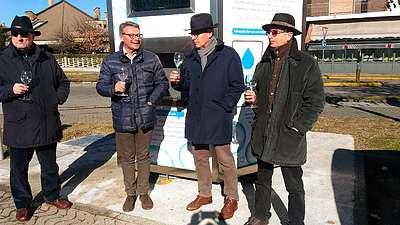 Cesano: in funzione da oggi la nuova casetta dell'acqua al Molinello