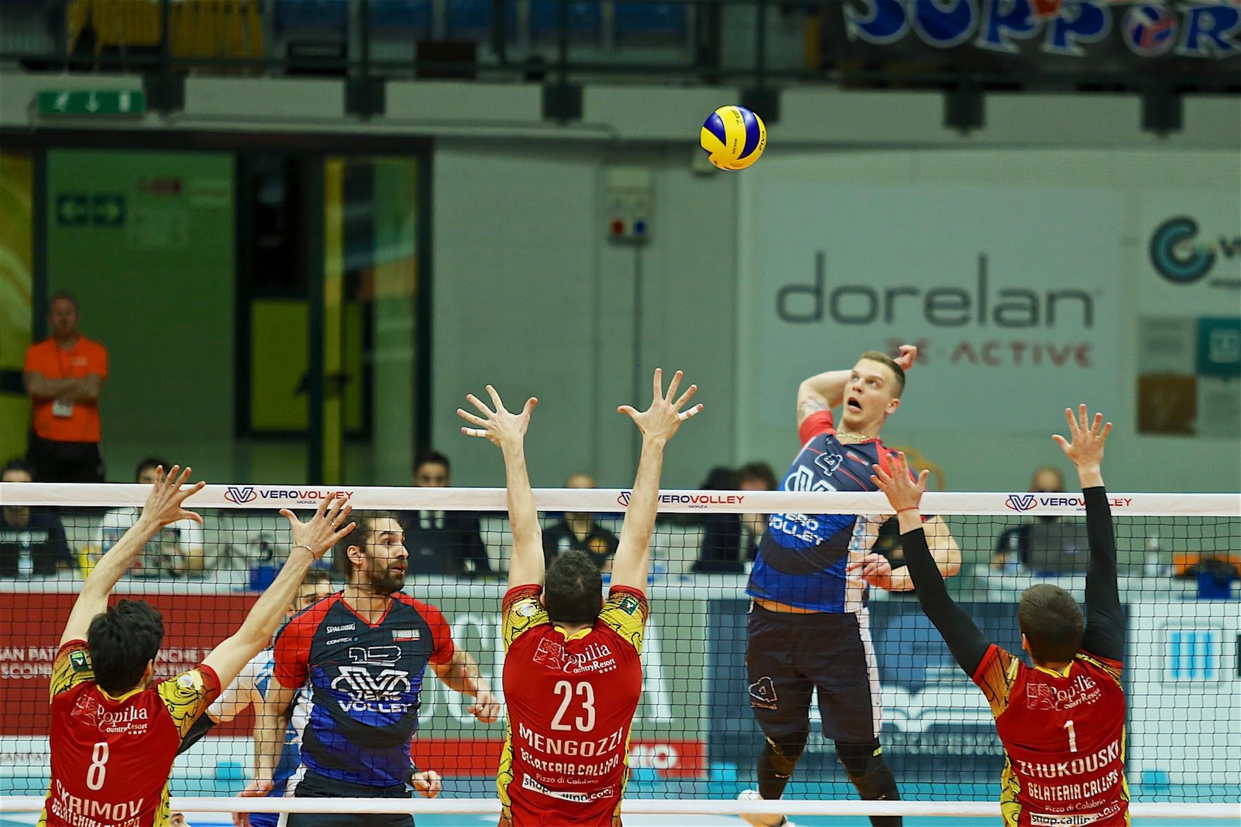 Monza pallavolo Vero Volley Dzavoronok